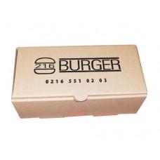 Hamburger Kutusu No:5 20x10x7