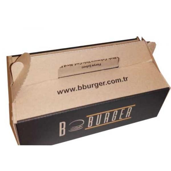 Hamburger Kutusu No:5 20X10X6