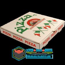 20 x 20 x 4 Pizza Kutusu Beyaz