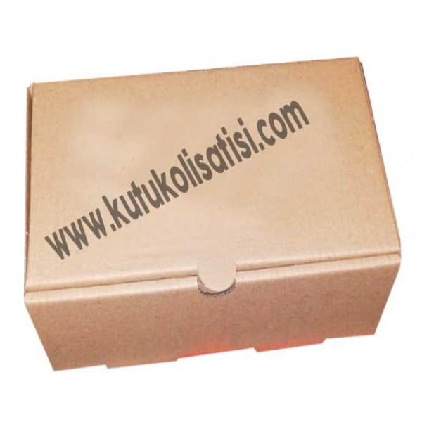 39 x 11 x 10 - Lahmacun Kutusu Saplı Dar Beyaz